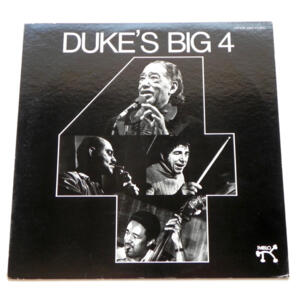 Duke's Big 4 / Duke Ellington - Joe Pass - Ray Brown - Louis Bellson  --  LP 33 giri  - Made in Japan