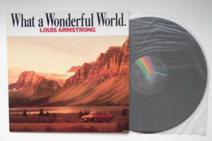 What a Wonderful World - Louis  Armstrong   --  LP 33 giri - Made in Japan