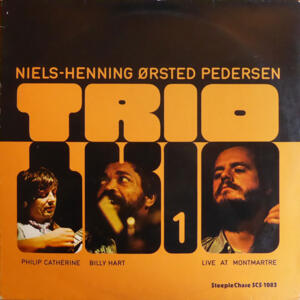 Live at Montmartre / Niels-Henning Ørsted Pedersen Trio1    --  LP 33 giri 180 gr. Made in Germany - From two tracks original analog master tape