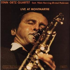Live at Montmartre / Stan Getz Quartet feat. Niels-Henning Ørsted Pedersen   --  Doppio LP 33 giri 180 gr. Made in Germany - From two tracks original analog master tape