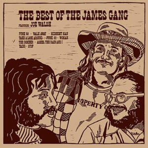 The James Gang - The Best of The James Gang featuring Joe Walsh  --  LP 33 giri 200 gr. Made in USA
