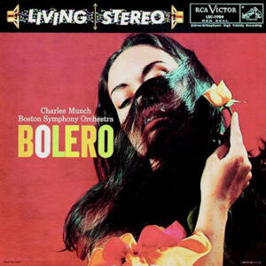 Ravel - Bolero / La Valse / Rapsodie Espagnole / Prelude To the Afternoon of A Faun  -  Boston Symphony Orchestra - Charles Munch, conductor  --  LP 33 giri 200 gr. Made in USA