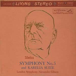 Sibelius - Symphony No. 5 and Karelia Suite / London Symphony Orchestra - Alexander Gibson, conductor  --  SACD Stereo Ibrido