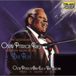 The Oscar Peterson Trio ‎– Saturday Night At The Blue Note  --  CD Made in USA