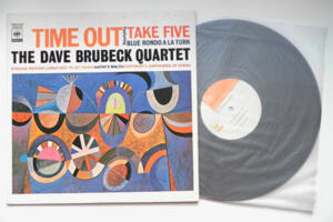 Time Out  Featuring Take Five - The Dave Brubeck Quartet --  LP 33 giri - Made in Japan