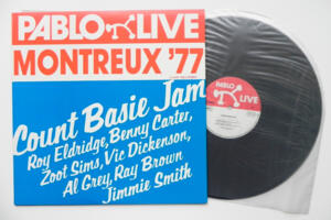 Montreux '77 - Count Basie  Jam  --  LP 33 giri - Made in Japan