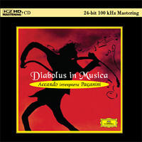 Paganini - Diabolus In Musica  - Salvatore Accardo  --  K2 HD  CD