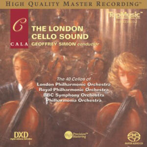 The London Cello Sound   --  Numbered, Limited Edition Hybrid Stereo SACD