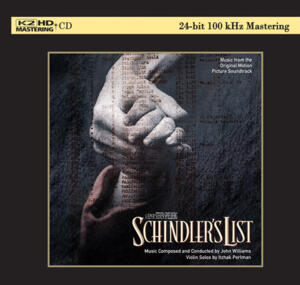 John Williams - Schindler's List Soundtrack  --  K2 HD CD Made in Japan