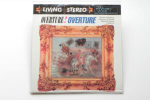 Overture! Overture! / The New Symphony Orchestra of London - Cond. Raymond Agoult --  LP 33 giri 180 gr.  - Made in Usa - SIGILLATO