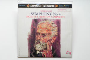 Tchaikovsky Symphony No. 4 / Boston Symphony - Monteux  --  LP 33 giri 180 gr. - Made in USA - SIGILLATO