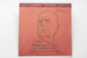 Sibelius Symphony No. 5 and Karella Suite  / London Symphony conducted by A. Gibson  --  LP 33 giri 180 gr.  - Made in USA - SIGILLATO