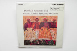 Dvorak Symphony No. 2  / London Symphony conducted by P. Monteux  --  LP 33 giri 180 gr.  - Made in USA - SIGILLATO