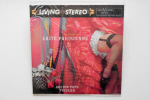 Offenbach: Gaité Parisienne / Boston Pops conducted by Fiedler  --  LP 33 giri 180 gr.  - Made in USA - SIGILLATO