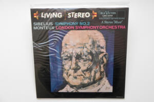 Sibelius Symphony No. 2  / London Symphony Orchestra conducted by  Monteux  --  LP 33 giri 180 gr.  - Made in USA - SIGILLATO