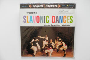 Dvorak Slavonic Dances / London Symphony Orchestra conducted by J. Martinon --  LP 33 giri 180 gr.  - Made in USA - SIGILLATO