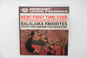 Balalaika Favorites / Osipov State Russian Folk Orchestra  --  LP 33 giri 180 gr.  - Made in USA - SIGILLATO