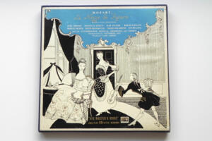 Mozart: Le Nozze di Figaro /  Glyndebourne Festival Orchestra and  Chorus conducted by Vittorio Gui -- Boxset 4 LP 33 giri - Made in UK