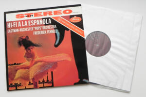 HI-FI A LA ESPANOLA  /  Eastman-Rochester Pops Orchestra conducted by Fennel  --  LP 33 giri 180 gr. -  Made in USA
