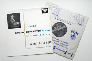Handel Organ Concertos Vol. 2 / Kark Richter with the Karl Richter Chamber Orchestra  --  LP 33 giri  - Made in England  - Prima stampa