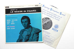 Mozart Hightlights from Le Nozze di Figaro / Vienna Philharmonic  conducted by Erich Kleiber --   LP 33 giri - Made in England - Prima Edizione