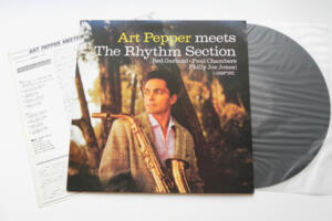 Art Pepper - Art Pepper Meets the Rhythm Section  --  LP 33 giri Made in Japan