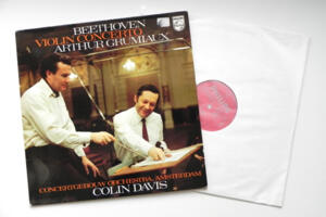 Beethoven Violin Concerto / Arthur Grumiaux - Concertgebouw Orchestra Amsterdam conducted by  Colin Davis  --  LP 33 giri - Made in Holland