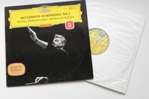 Beethoven Symphonie nr. 5 / Berliner Philharmoniker conducted by Herbert von Karajan --  LP 33 giri - Made in Germany  - Prima Edizione