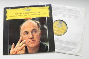 Recital / Svjatoslav Richter, piano --  LP 33 giri - Made in Germany  - Prima Edizione