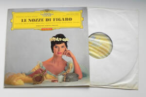 Mozart Le Nozze di Figaro / Radio-Symphonie-Orchester Berlin conducted by F. Fricsay  --  LP 33 giri - Made in Germany  - Prima Edizione