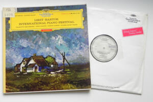 Liszt - Bartok  International Piano Festival / Belcsenko, Cianni, Gabos, Wilde --  LP 33 giri - Made in Germany  - Prima Edizione