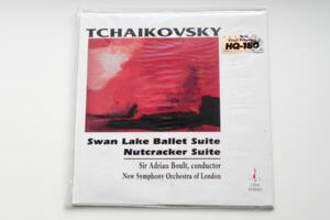 Tchaikovsky Swan Lake Ballet Suite - Nutcracker Suite / New Symphony Orchestra of London conducted by Sir A. Boult --  LP 33 giri 180  gr.  - Made in USA - SIGILLATO