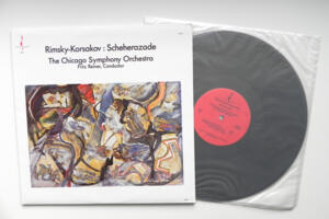 Rimsky-Korsakov Scheherazade / The Chicago Symphony Orchestra conducted by F. Reiner --  LP 33 giri 180  gr.  - Made in USA