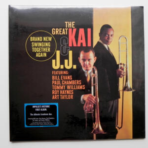 Brand New Swinging Together Again / The Great Kai & J.J. --  LP 33 giri 180 gr. - Made in USA - SIGILLATO