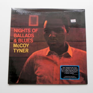 Nights of Ballads & Blues / McCoy Tyner  --  LP 33 giri 180 gr. - Made in USA - SIGILLATO