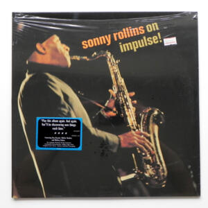 Sonny Rollins on Impulse / Sonny Rollins  --  LP 33 rpm  180 gr. - Made in USA - SEALED