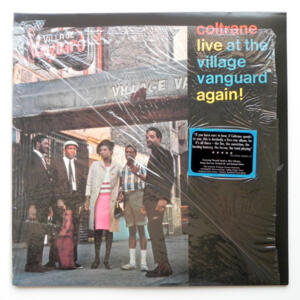 Coltrane Live at the Village Vanguard Again / Coltrane  --  LP 33 rpm  180 gr. - Made in USA