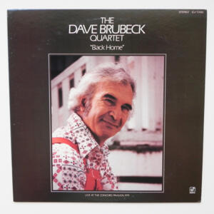 Back Home / The Dave Brubeck Quartet  --  LP 33 giri - Made in Japan