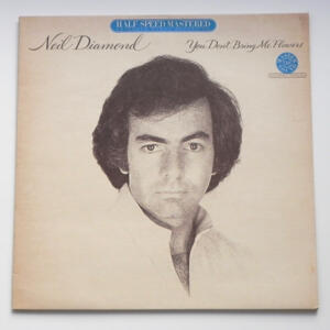 You Don't Bring Me Flowers / Neil Diamond  -- LP 33 giri - Made in Germany - Half-Speed Mastered