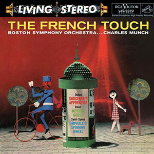 Charles Munch - The French Touch   --  LP 33 giri 200 gr. Made in USA