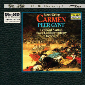 Bizet & Grieg - Carmen Suite & Peer Gynt  --  Limited Edition Ultra HD CD Special Silver logo first pressing - Made in USA