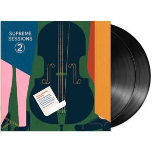 Supreme Sessions 2  --  Doppio LP 33 giri 180 gr. Made by Marten  -  Edizione limitata