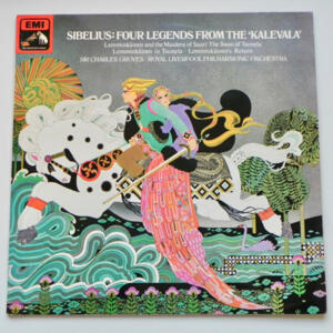 Sibelius FOUR LEGENDS FROM THE KALEVALA / Royal Liverpool Philharmonic Orchestra conducted by Sir Charles Groves --  LP 33 giri - Made in UK