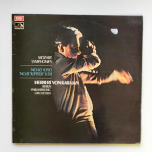 Mozart Symphonies / Berlin Philharmonic Orchestra conducted by Herbert von Karajan --  LP 33 giri - Made in UK