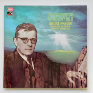 Shostakovitch SYMPHONY NO. 8 / The London Symphony Orchestra conducted by André Previn --  LP 33 giri - Made in UK
