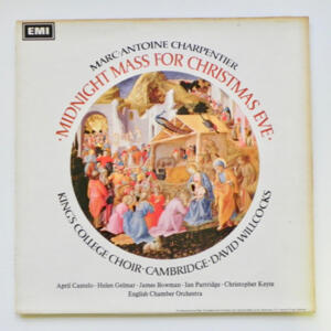 Charpentier MIDNIGHT MASS FOR CHRISTMAS EVE / Andrew Davis / English Chamber Orchestra conducted by D. Willcocks --  LP 33 giri - Made in UK