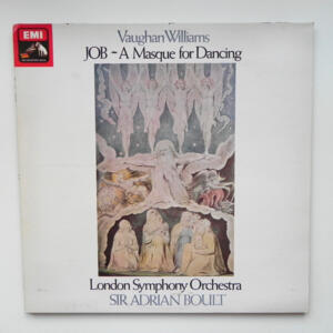 Vaughan Williams JOB - A MASQUE FOR DANCING / London Symphony Orchestra  conducted by Sir Adrian Boult  --  LP 33 giri - Made in UK