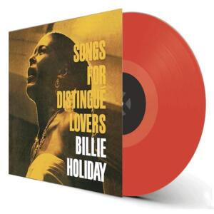 Billie Holiday - Songs for Dinstingué Lovers  --  LP 33 giri 180 gr. - VINILE COLORATO ARANCIONE - Edizione limitata da collezione