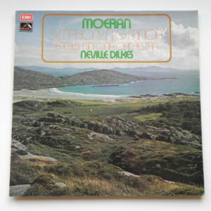 Moeran SYMPHONY IN G MINOR / English Sinfonia Orchestra conducted by Neville Dilkes --  LP 33 giri - Made in UK