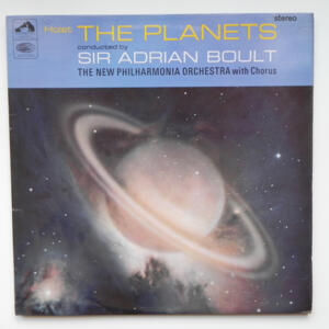 Holst THE PLANETS / The New Philharmonia Orchestra with Chorus conducted by Sir Adrian Boult --  LP 33 giri - Made in UK